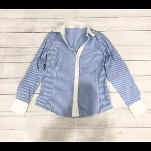 brooks brothers womens button up blouse